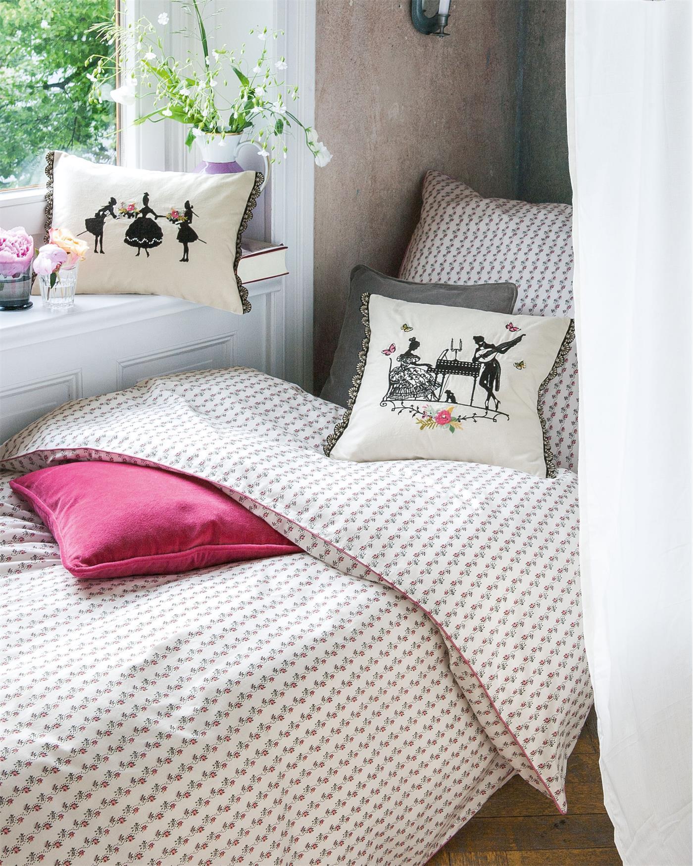 bettw sche blumenranke finden sie auf. Black Bedroom Furniture Sets. Home Design Ideas