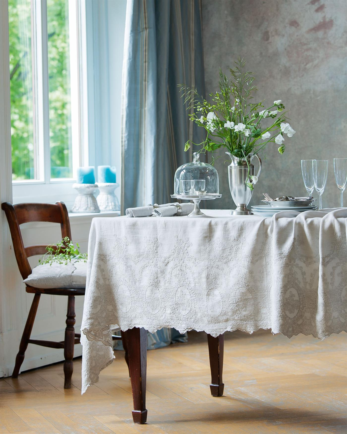 leinentischdecke ekatarina unter. Black Bedroom Furniture Sets. Home Design Ideas