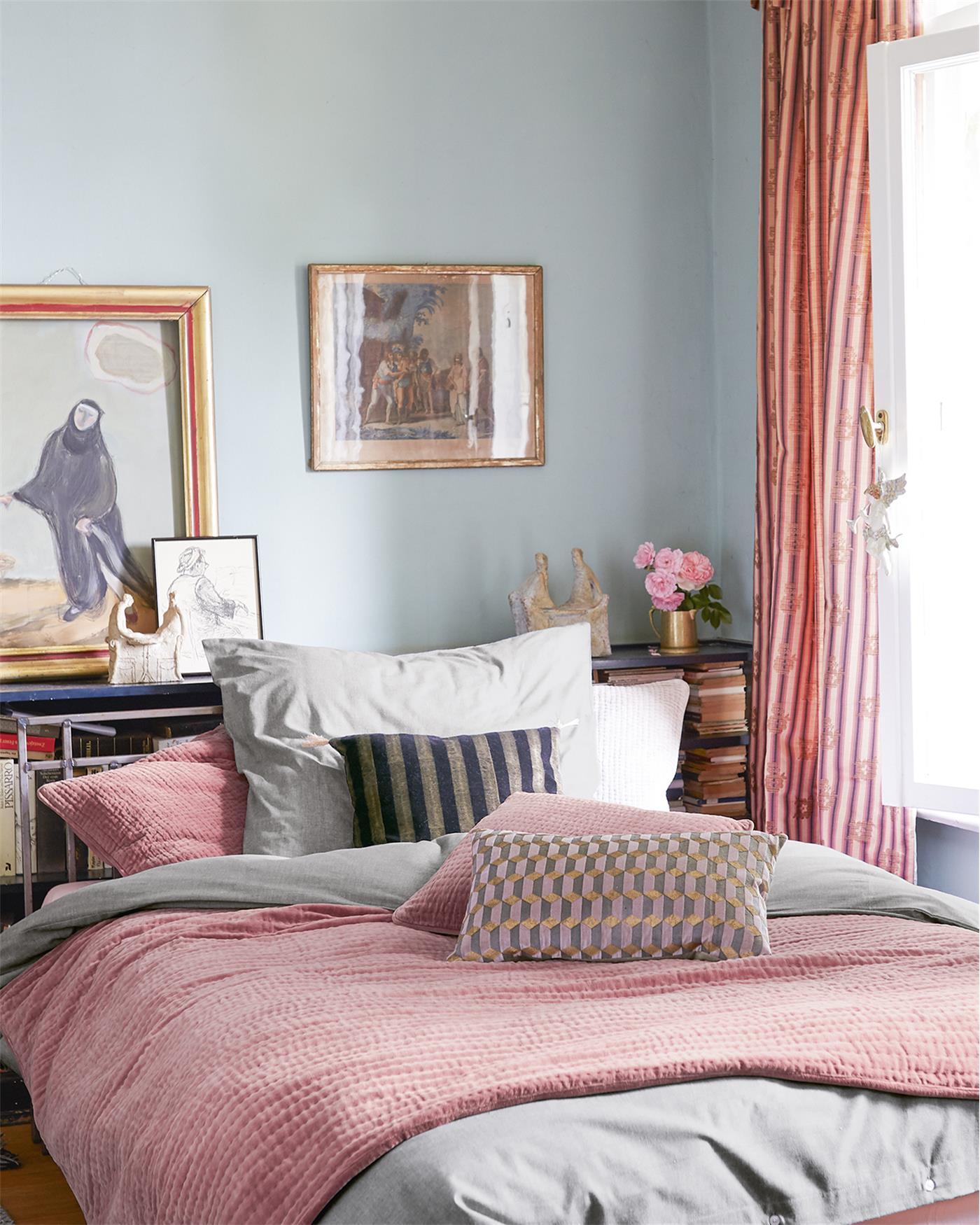 samtquilt dusty rose. Black Bedroom Furniture Sets. Home Design Ideas