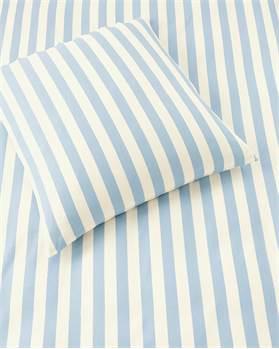 Bettwäsche blau-weiß