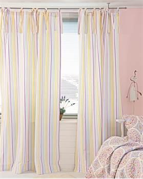 Vorhang bunte Streifen
