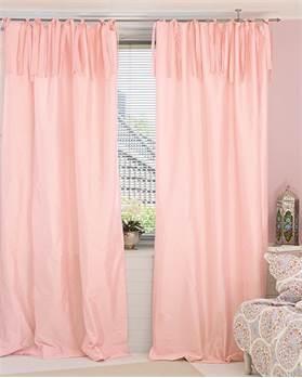 Vorhang hellrosa