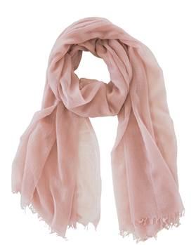 Wollschal rosa