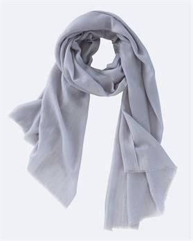 Kaschmirschal grau