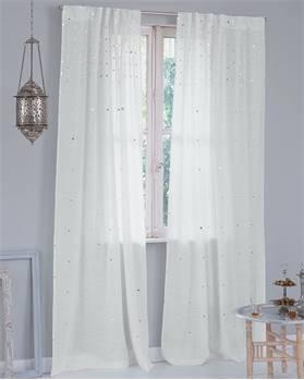 Vorhang Sheesha, weiß
