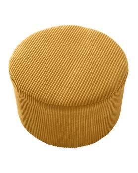 Sitzpouf gelb