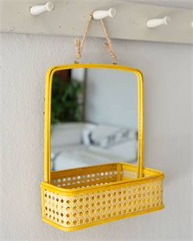 Spiegel gelb