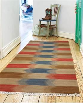 Ikat-Teppichläufer Puri