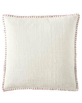 Kissenhülle, weiß, weiche Baumwolle