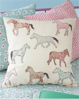 Kissenhülle Horseshow