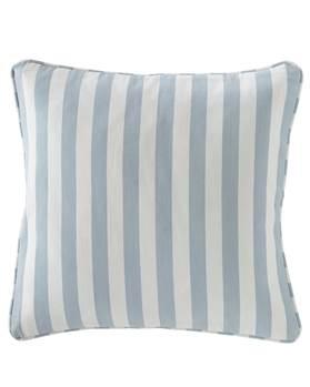 Kissenhülle Maritim, blau-weiß gestreift, Baumwolle,