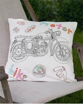 Kissenhülle Motorbike