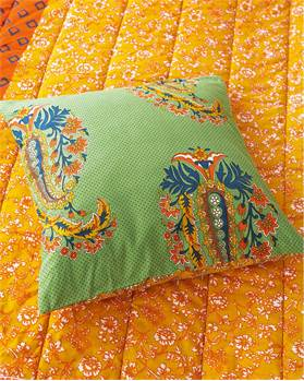 Wendequiltkissenhülle Super-Paisley