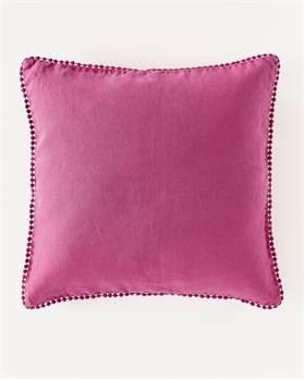 Leinenkissenhülle Pink