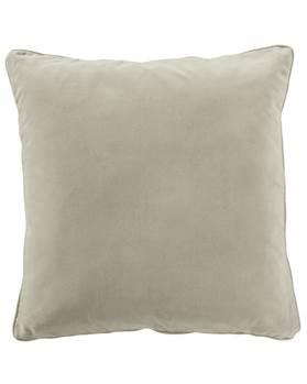 Kissenhülle, beige, grau, weiche Baumwolle