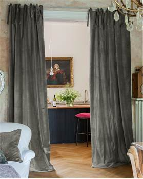 blickdichte vorh nge in markenqualit t auf. Black Bedroom Furniture Sets. Home Design Ideas