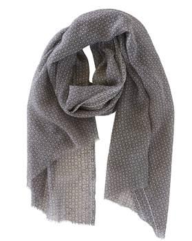 Schal, grau, weiche Wolle