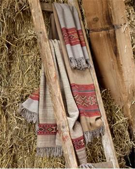Schal mit Bordüre
