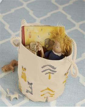 Spielzeugtasche, Bär, weiche Baumwolle