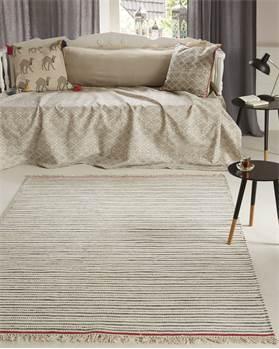Teppich gestreift