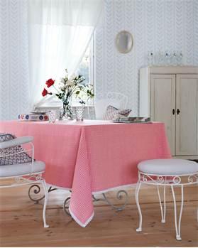 Tischdecke Bauernstube, rot kariert