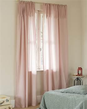Voilevorhang rosa