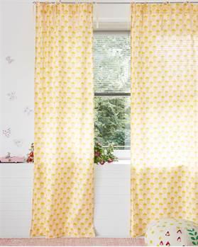 Vorhang Ananas