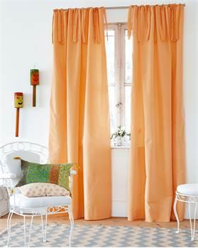 Vorhang Apricot