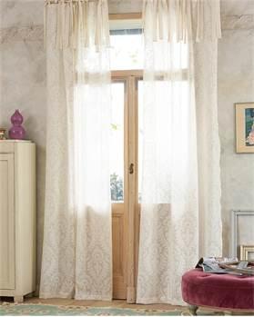 Vorhang Cutwork ecru