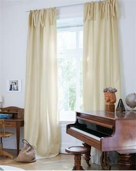 Vorhang Elfenbein