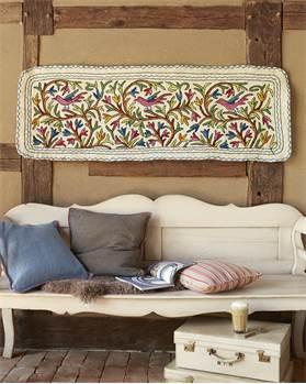 Wandbehang Kaschmir, gefilzt