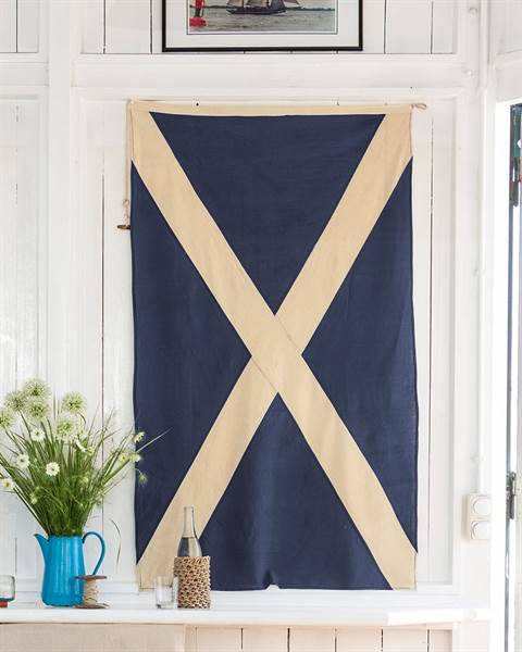 Flagge Blau