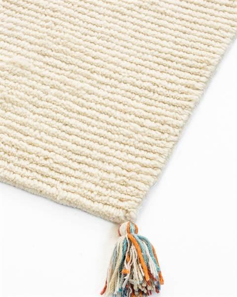 Teppich altweiß