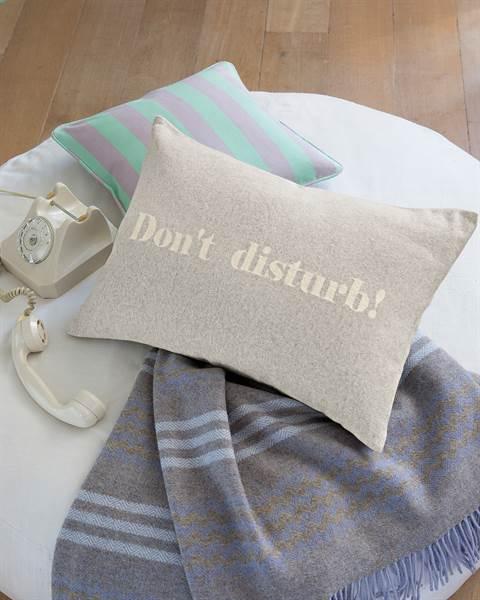 Kissenhülle Don't Disturb