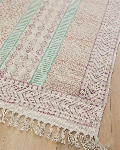 Teppich farbig