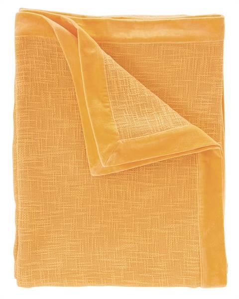 Tagesdecke gelb