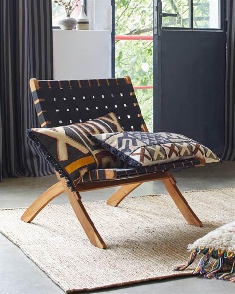 Sessel, schwarz, Holz, Nylon