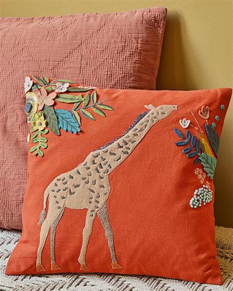 Kissenhülle Giraffe