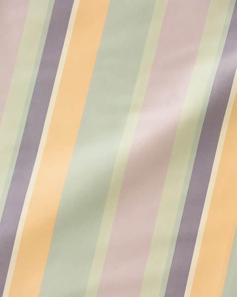 Streifenvorhang pastellfarben