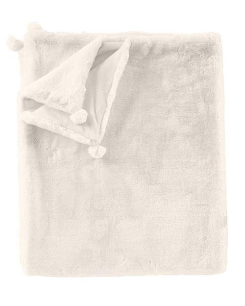 Decke cremeweiß