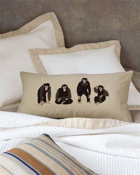 Kissenhülle Schimpansen