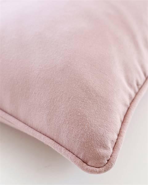 Kissenhülle rosa