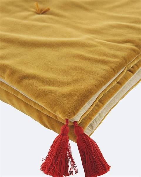 Bettschal Amarillo, gelb
