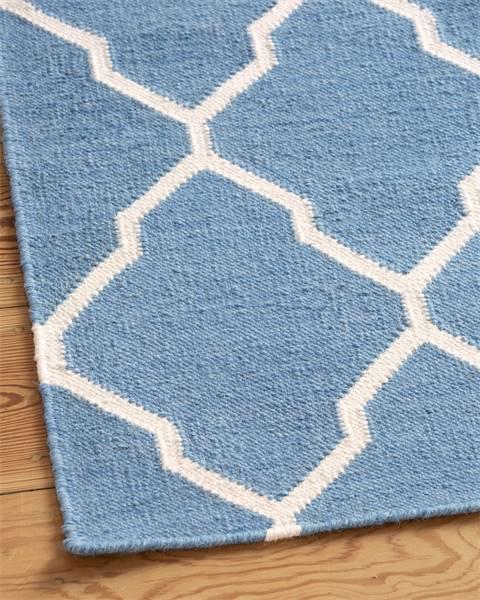 Teppich blau