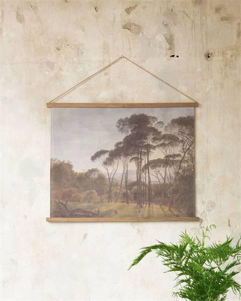 Wandbild Wald