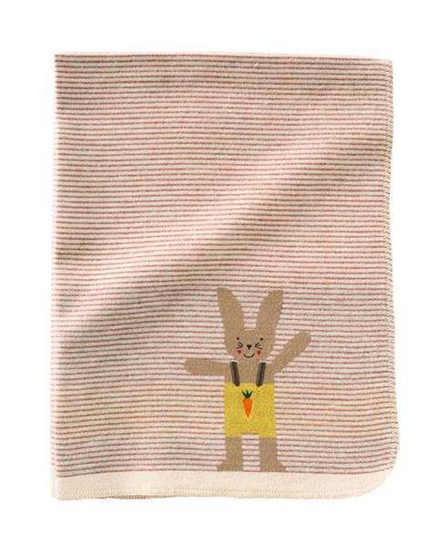 Decke mit Hasen