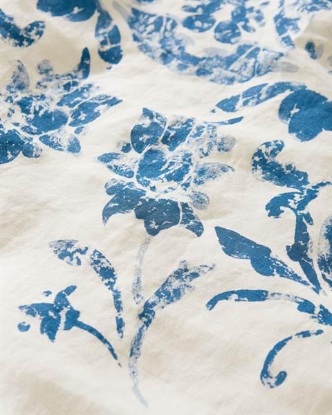 Bettwäsche Blaue Blume Detail
