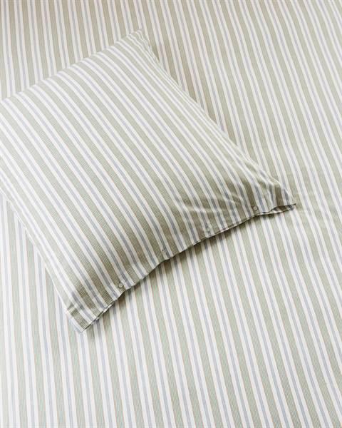 Bettwäsche bunt gestreift, Baumwolle