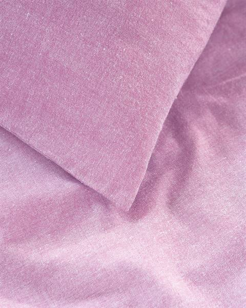 Chambraybettwäsche pink