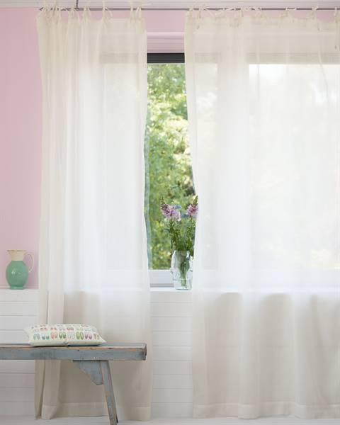 Vorhang Cremeweiß